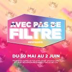 Laurence Nerbonne, ambassadrice du RVPQ 2019 #avecpasdefiltre du 30 mai au 2 juin à Gatineau