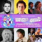 Spectacle anniversaire unique pour Secondaire et Cégeps en spectacle aux Francos de Montréal le 22 juin