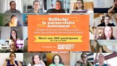 Résumé des échanges des 300 participants du webinaire « Réfléchir le parascolaire autrement - Pandémie et loisir en milieu scolaire : idées, discussions et perspectives d'avenir »